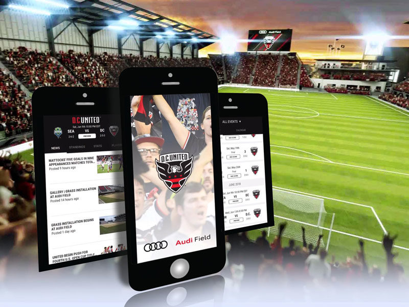 DC United - Audi Field app