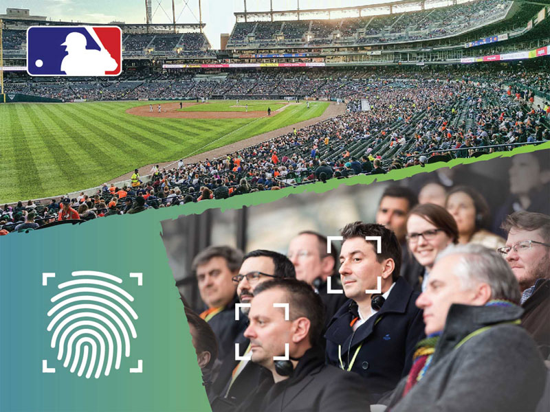 MLB facial recognition and finger prints