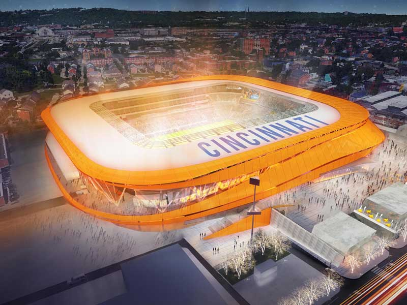 FC Cincinnati - new stadium design