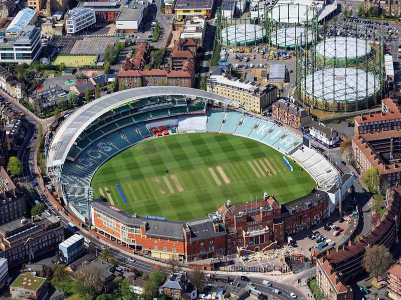 Kia Oval goes green