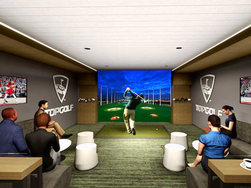 Topgolf Swing Suites - Atlanta Hawks