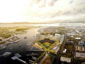 Oakland Athletics new ballpark