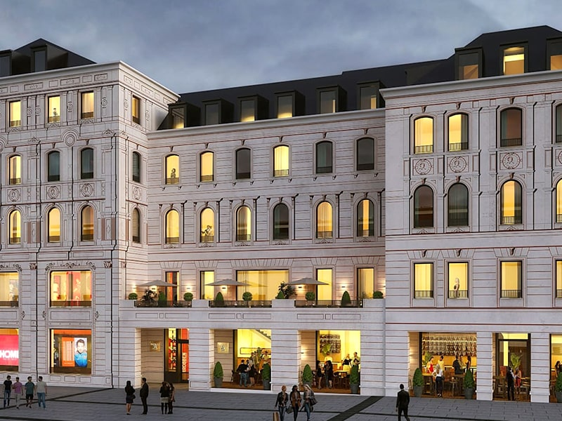 FC Bayern hotel and store