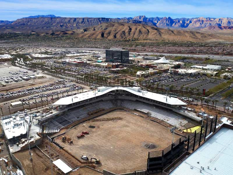 new Las Vegas Ballpark