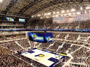 Bankers Life Fieldhouse facelift