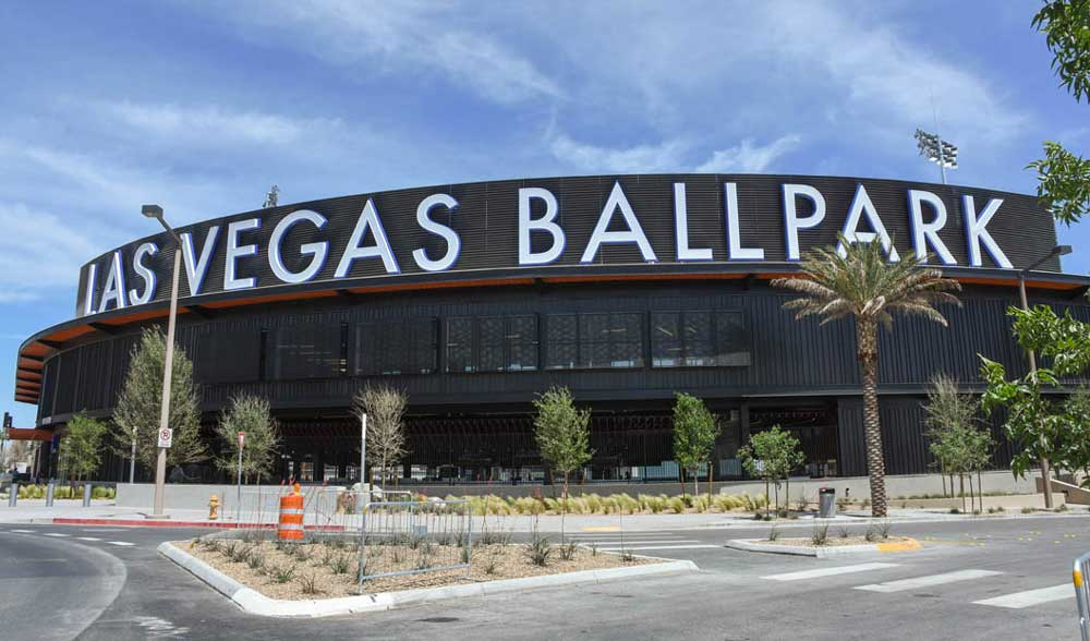 Coliseum Summit US 2019 - pre-opening tour - Las Vegas Ballpark