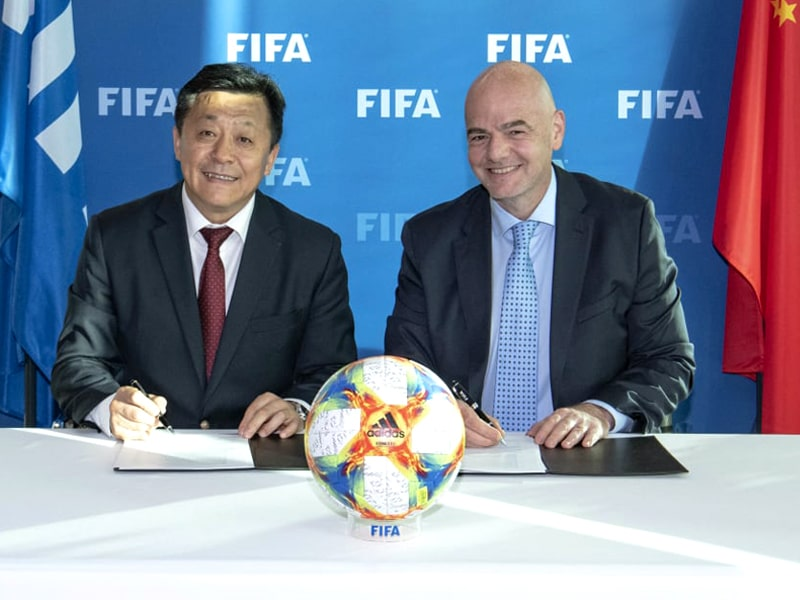 China and FIFA 2030 World Cup bid