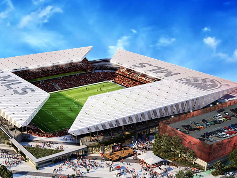 St. Louis MLS planned stadium - MLS4TheLou