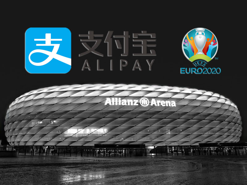 Alipay and Euro 2020