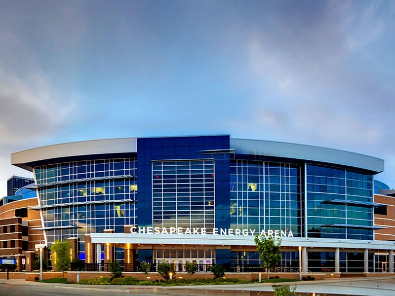 Oklahoma Chesapeake Energy Arena