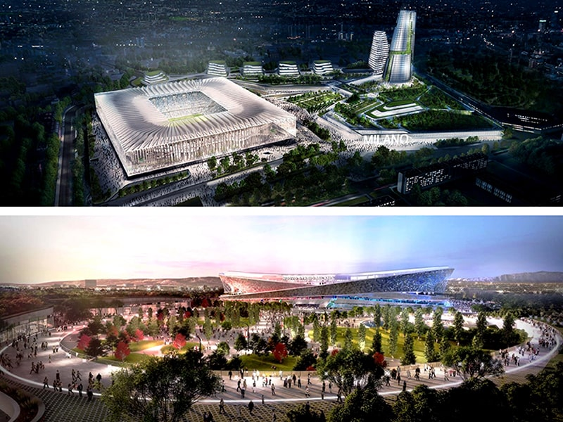 San Siro new stadium design (Giuseppe Meazza update end-September 2019))