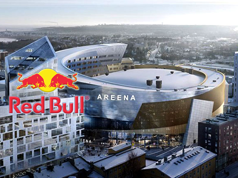 Tampere Deck Arena and Red Bull