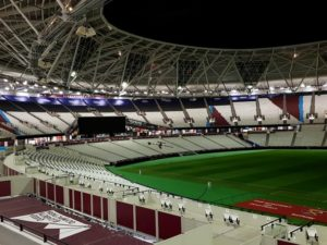 London Stadium new stands