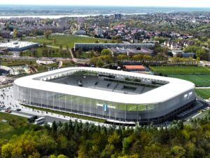 Poland Płock new stadium design