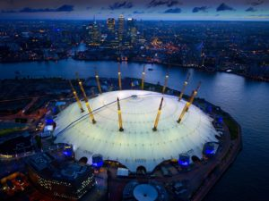 O2 Arena host US basketball
