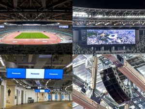 Panasonic and Japan National Stadium