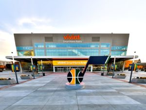 Utah Jazz Vivint Smart Home Arena