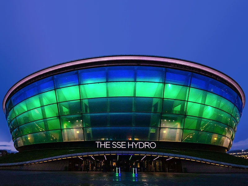 SSE Hydro and Vodafone
